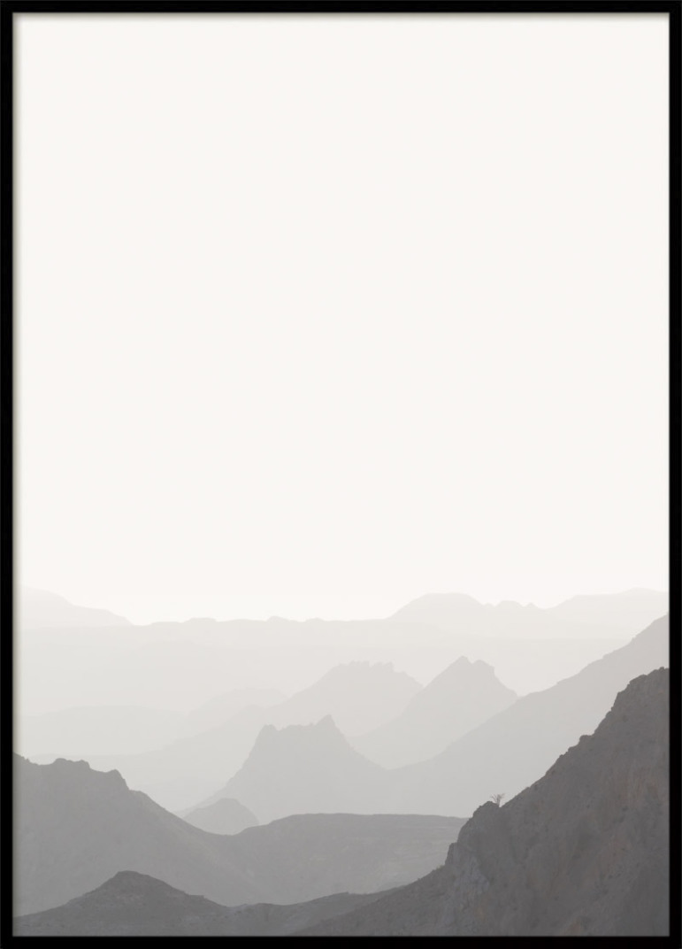 Grey Mountain Poster