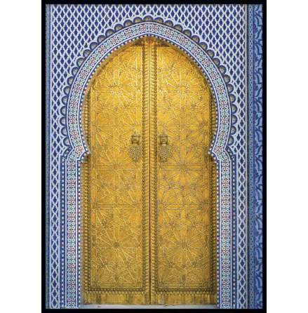 Marrakech Door, Poster