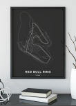 Poster, Red Bull Ring F1 print