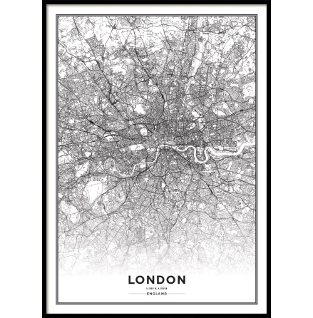 LONDON CITYMAP, POSTER