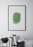 Mint Green Drop, Poster