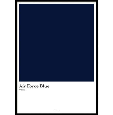 AIR FORCE BLUE, POSTER
