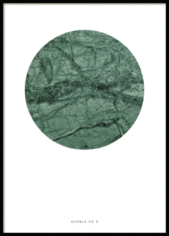 MARBLE NO9, POSTER