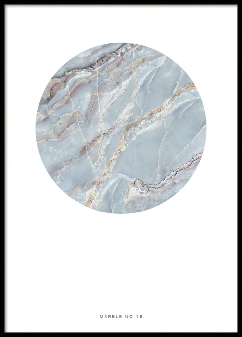 MARBLE NO16, POSTER