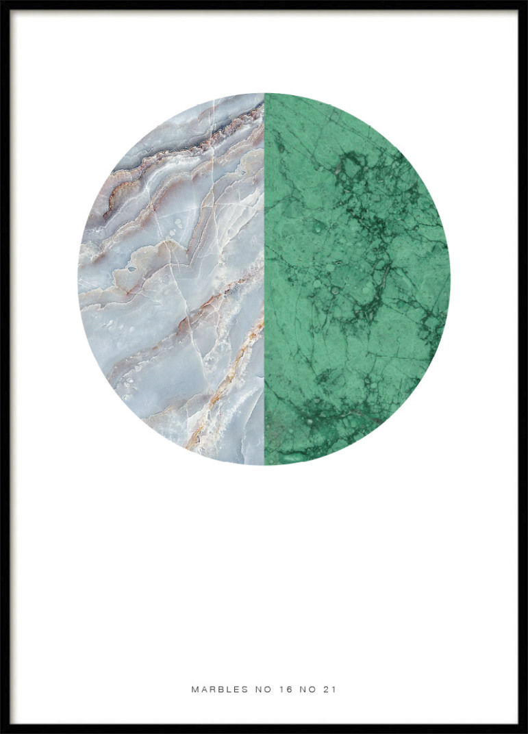 MARBLE MIX, POSTER
